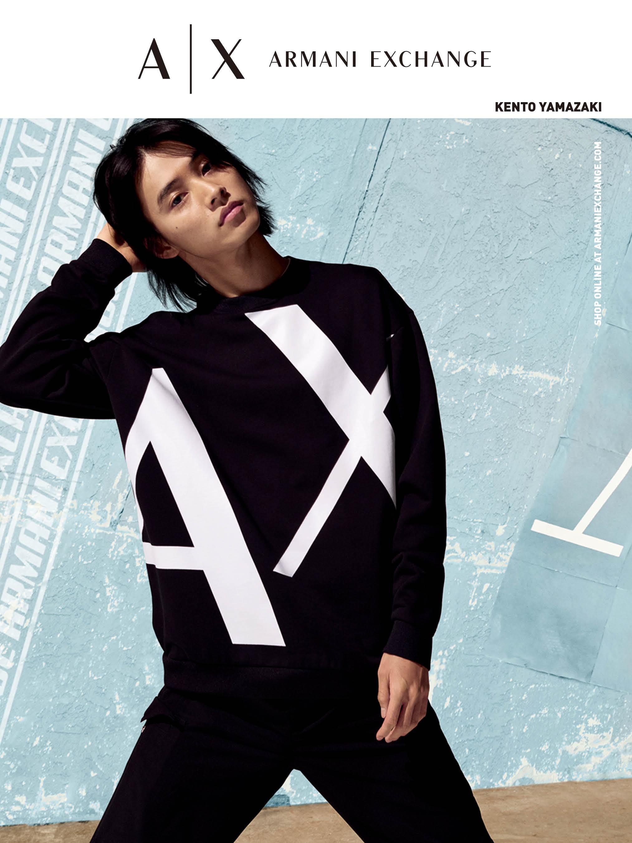 山﨑賢人さん『A|X アルマーニ エクスチェンジ』のキャンペーンモデルビジュアル PhotoGallery_1_5