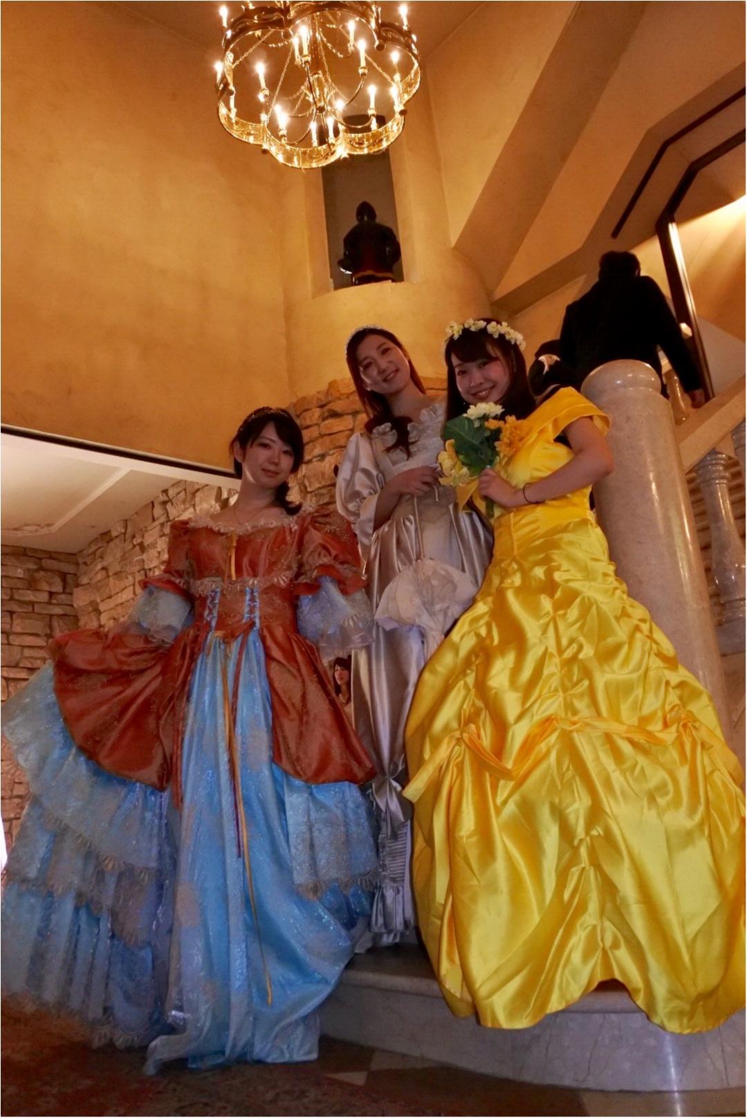 女子旅の新定番新定番「バスツアー」で行くお城でのプリンセス体験と旬のフルーツ狩り_3
