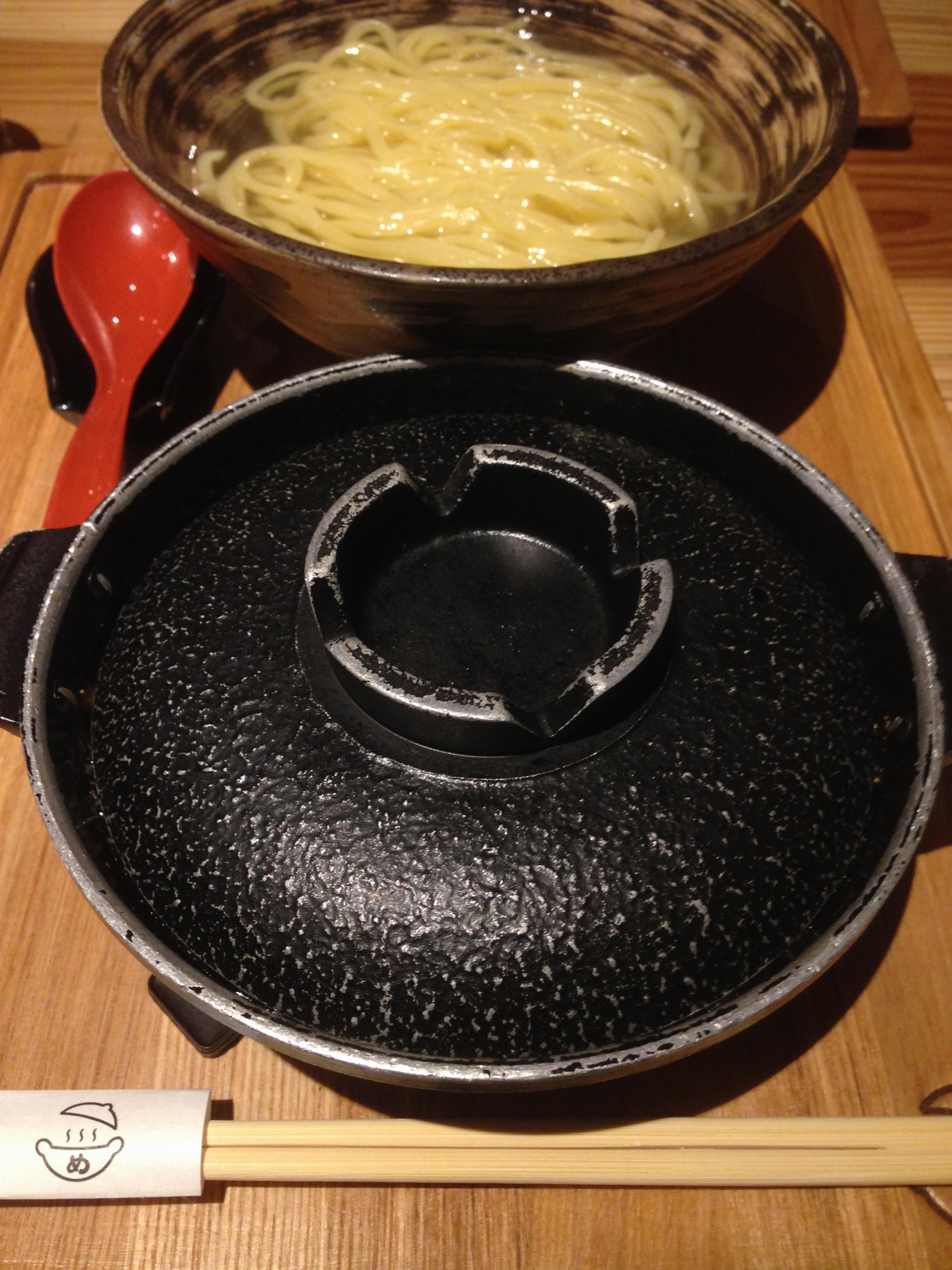 一度食べたら虜になる⁉️博多発・日本初の究極のつけ麺✨【元祖めんたい煮こみつけ麺】_3