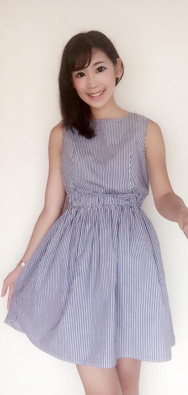 【しまむらファッション】爽やかワンピースで夏らしく…♪_1