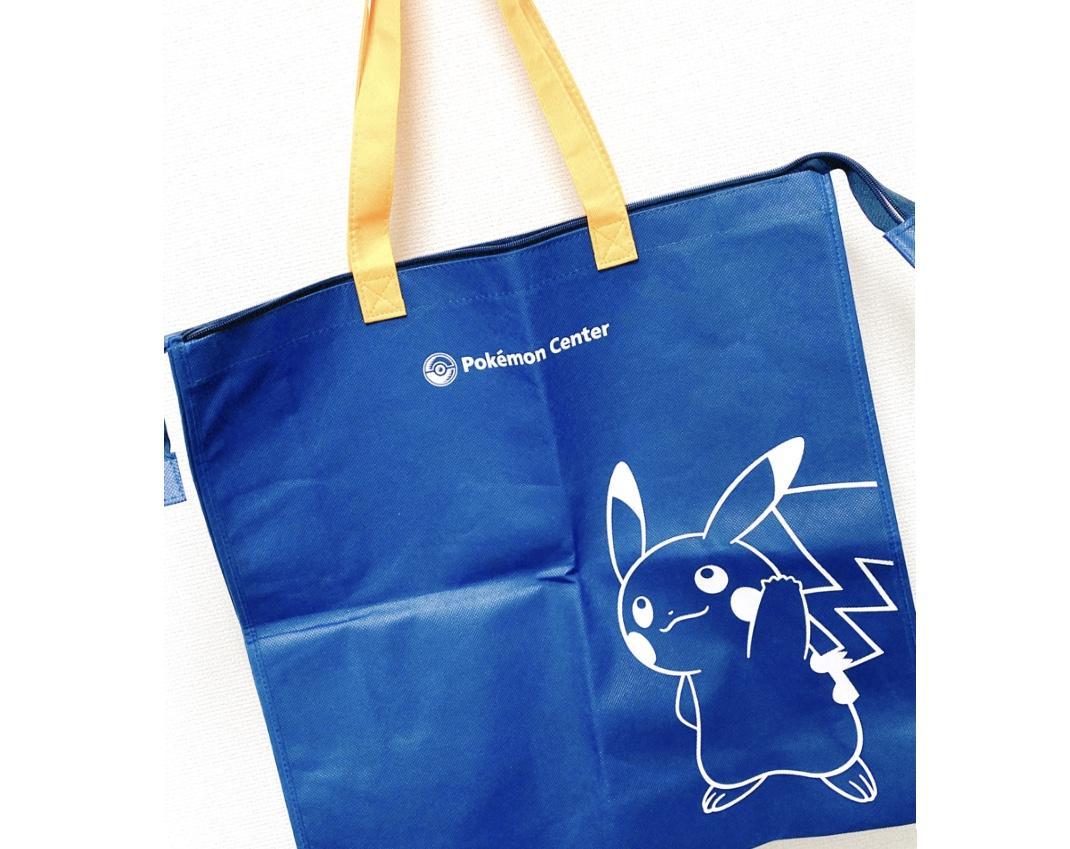 【エコバッグ】3サイズ展開!ポケモンセンター のマイバッグでお気に入りキャラと買出しへGO!_4
