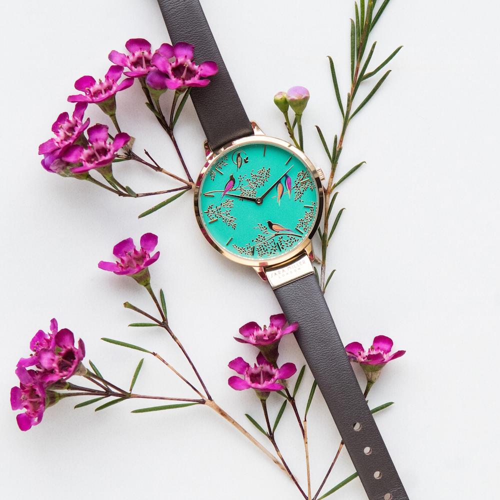 ロンドン発『サラミラーロンドン』の腕時計が日本初上陸!オフィスもデートもOKな華デザイン♡_2