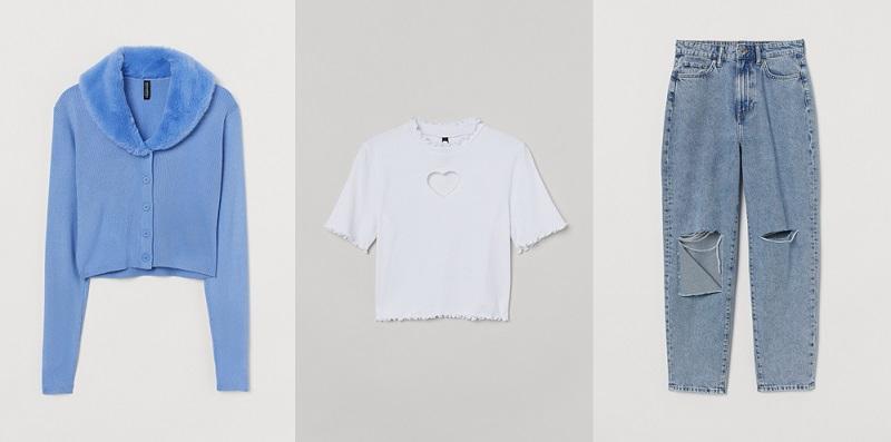 H&M春夏キャンペーンでNiziUのMAYA着用アイテム