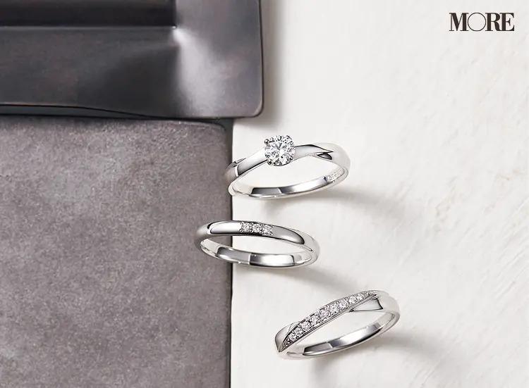 結婚指輪におすすめのヴァンドーム青山のエンゲージメントリングとマリッジリング2種