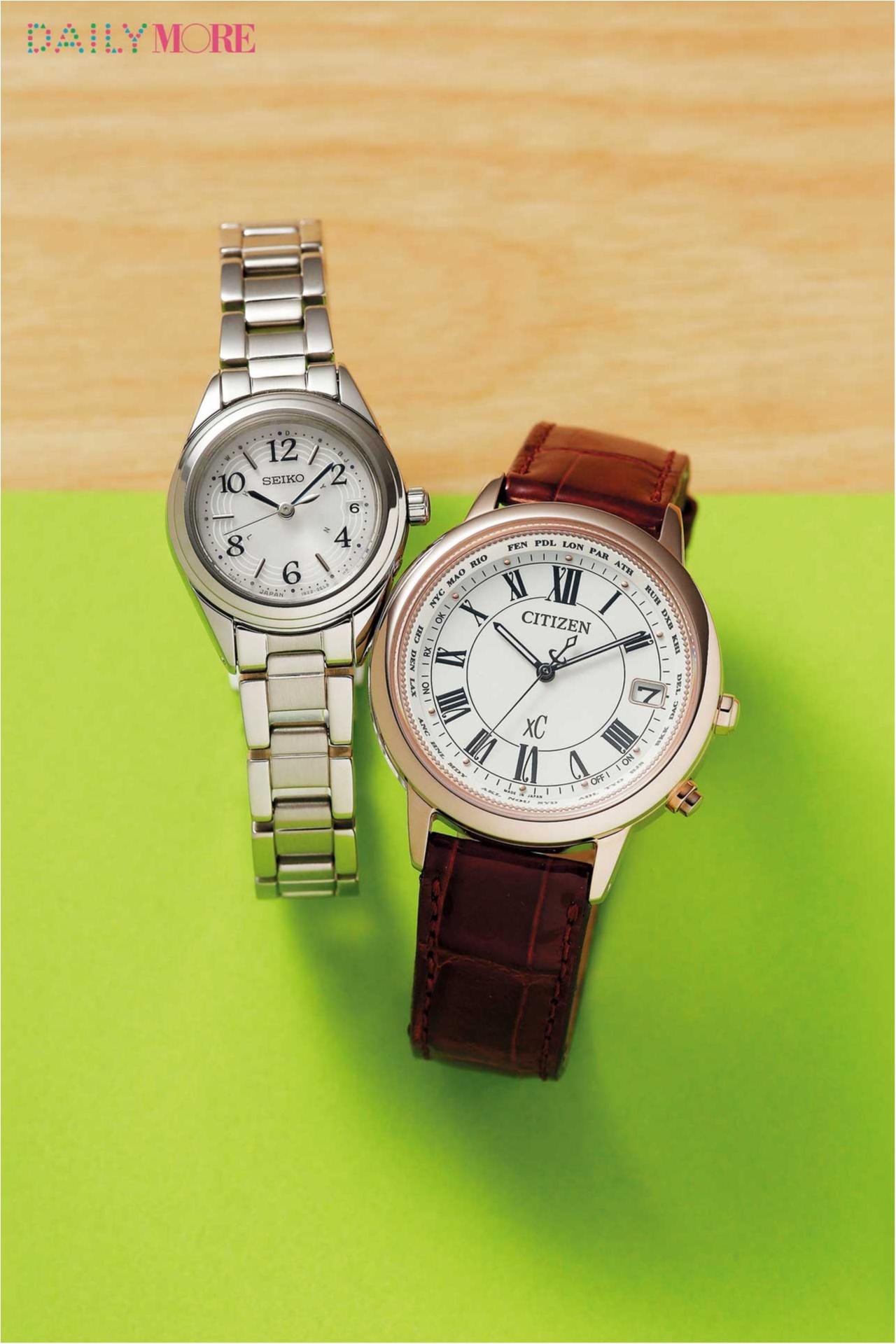 人気ベスト3を発表!! 今狙うべき腕時計は「ビッグフェイス」「電波時計」「ピンクゴールド」!_2