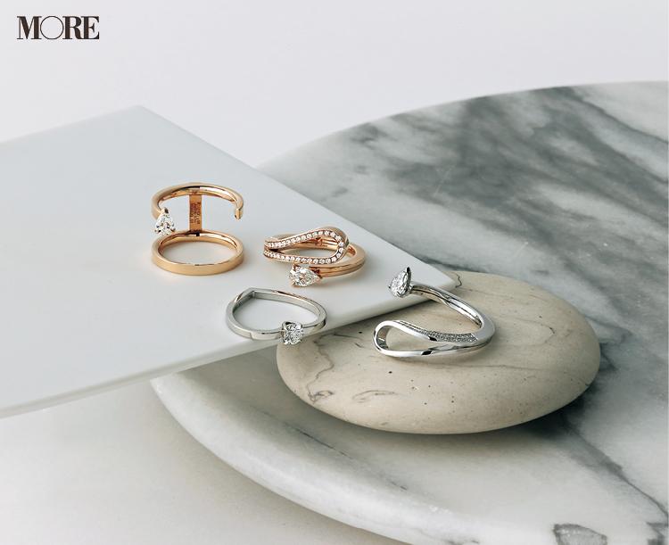 レポシのエンゲージメントリング 婚約指輪
