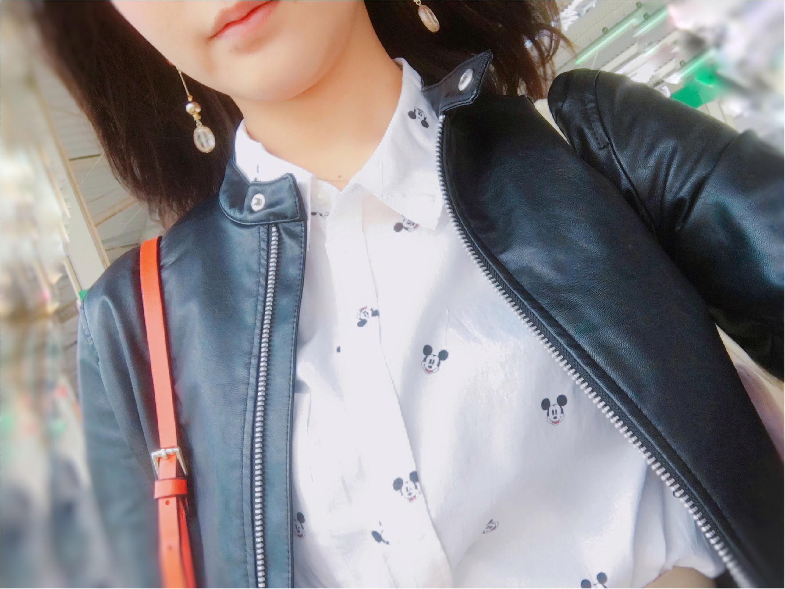 ▷【H&M】で見つけた♡さりげなくがカワイイ♡シャツコーデ_2