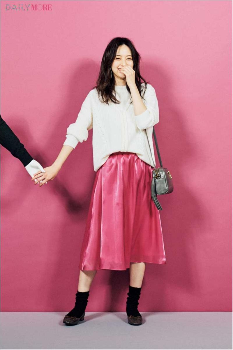 【デートへは彼ウケして自分も上がるスカートで】「GU」「N.」「センスオブプレイス」で1月の予定別全身コーデにチャレンジ☆_1_3