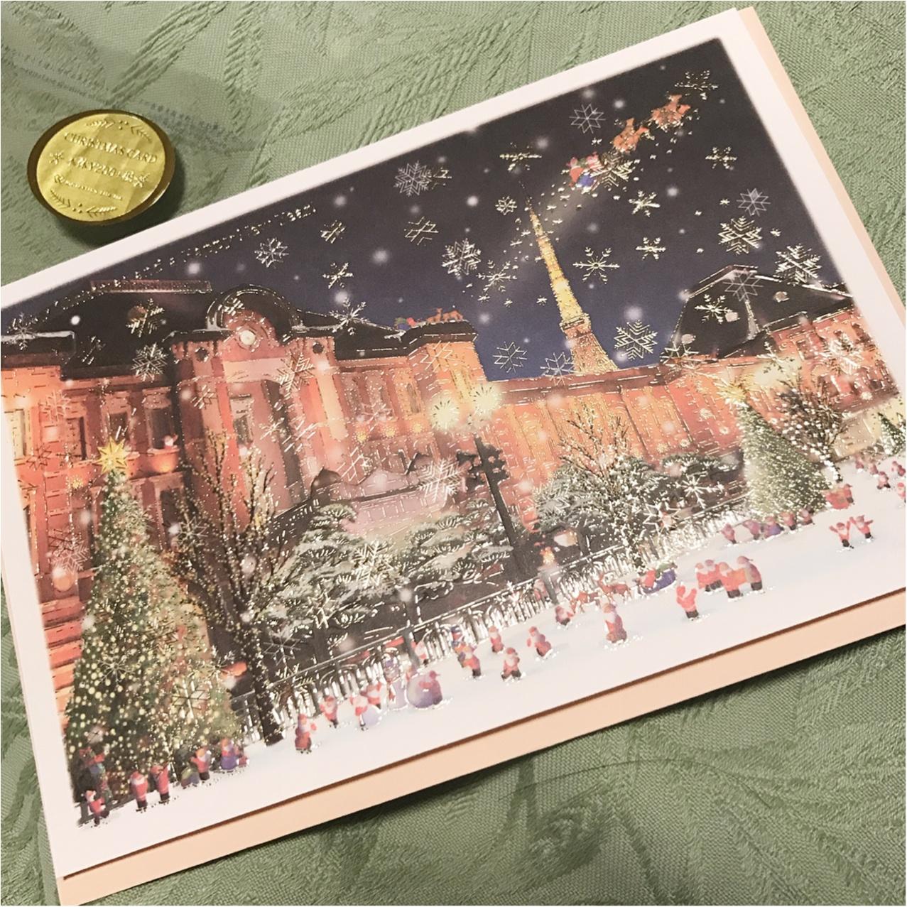 《Xmasプレゼントに添えて♡》 日本を旅するサンタさんが可愛いクリスマスカード❤︎_2
