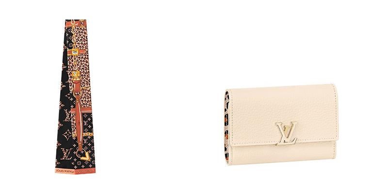 ルイ・ヴィトン秋のカプセルコレクション、バンダナと財布