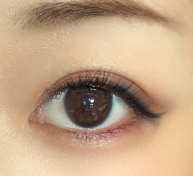 《冬メイク》ネイビーブラックのアイラインでノーブルな眼差し❁* 愛用のロングマスカラもご紹介( ´ ▽ ` )_5