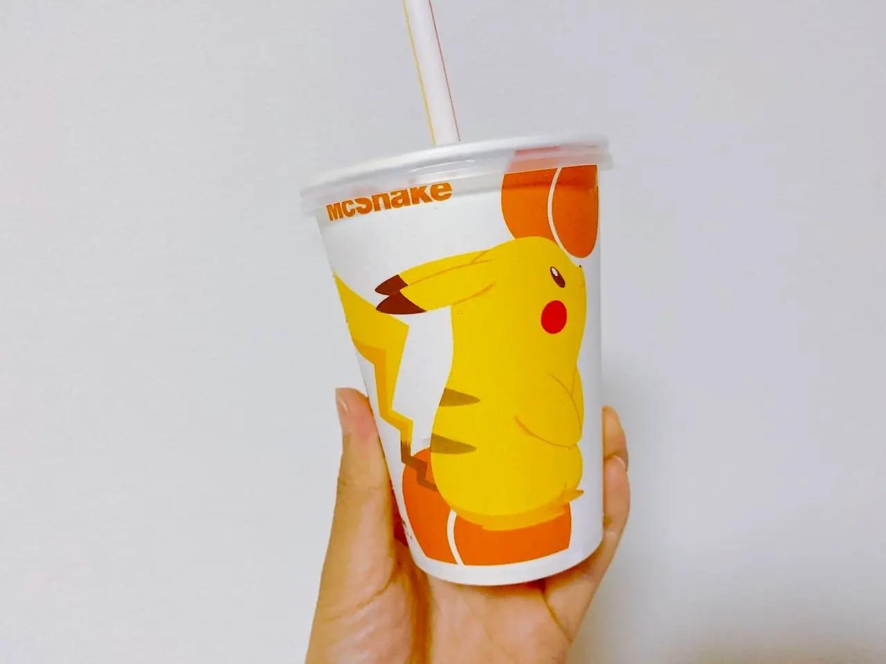 マクドナルドのマックシェイク® 黄桃味