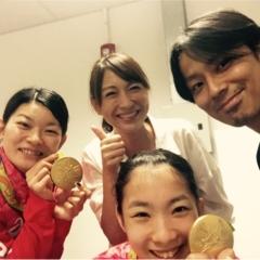 タカマツペア金メダルおめでとう!! 生で観た日本バドミントン史上初の瞬間と、本当に重かった金メダル!