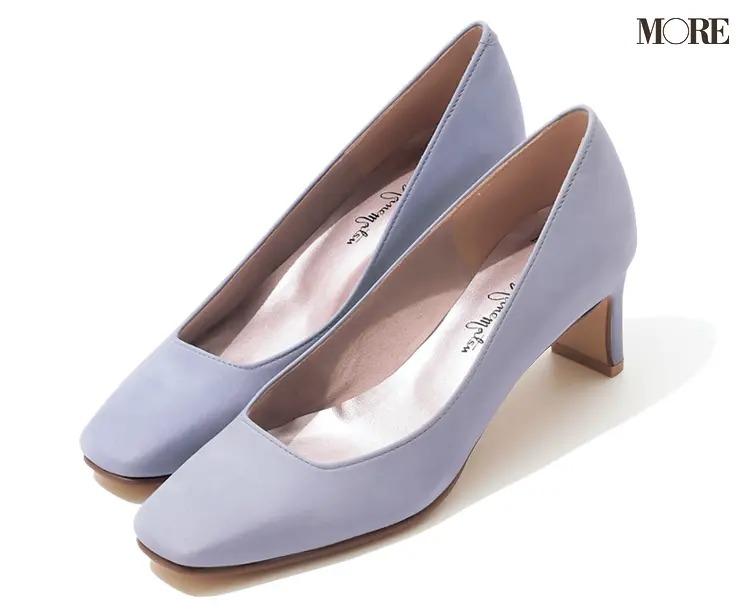 【人気ブランドのおすすめ靴】『銀座かねまつ』スクエアトウパンプス