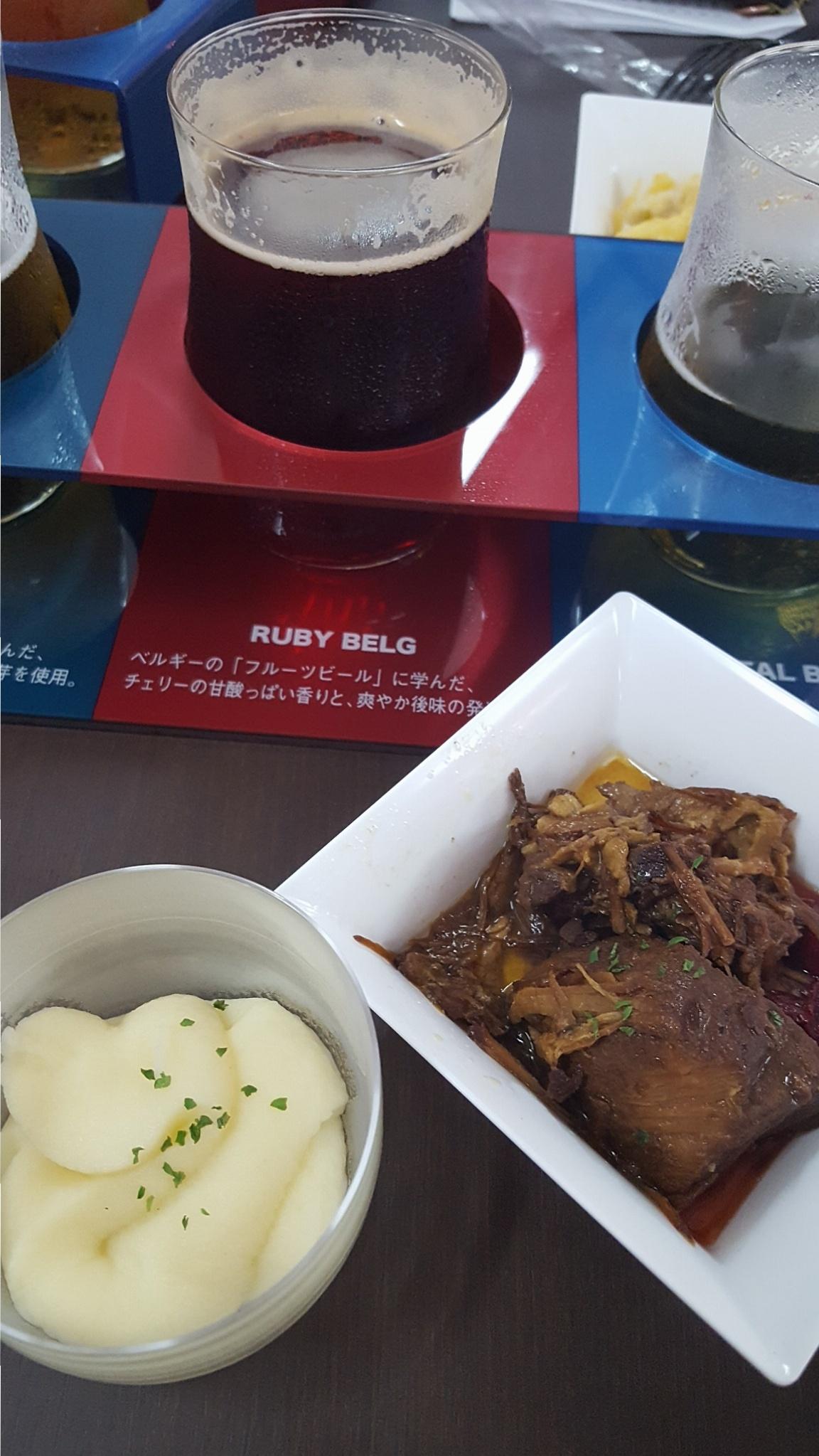 大阪・ホワイトベルグフェスでお料理&飲み比べ 堪能☆_3