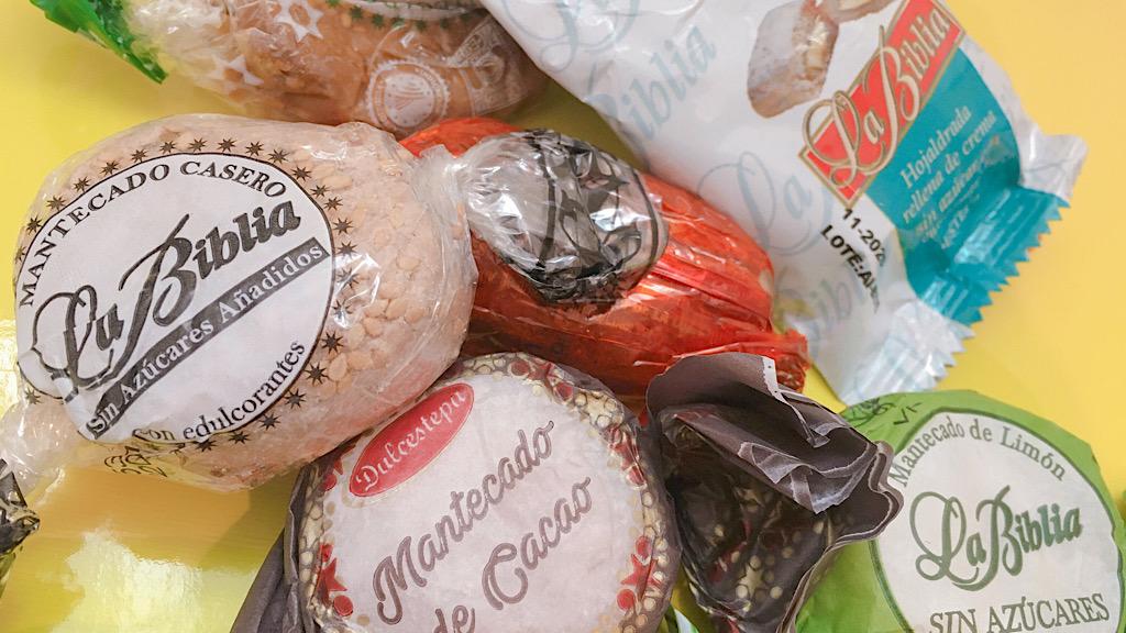 【スペイン♡】クリスマスシーズンのお菓子 ポルボロンって何?_2