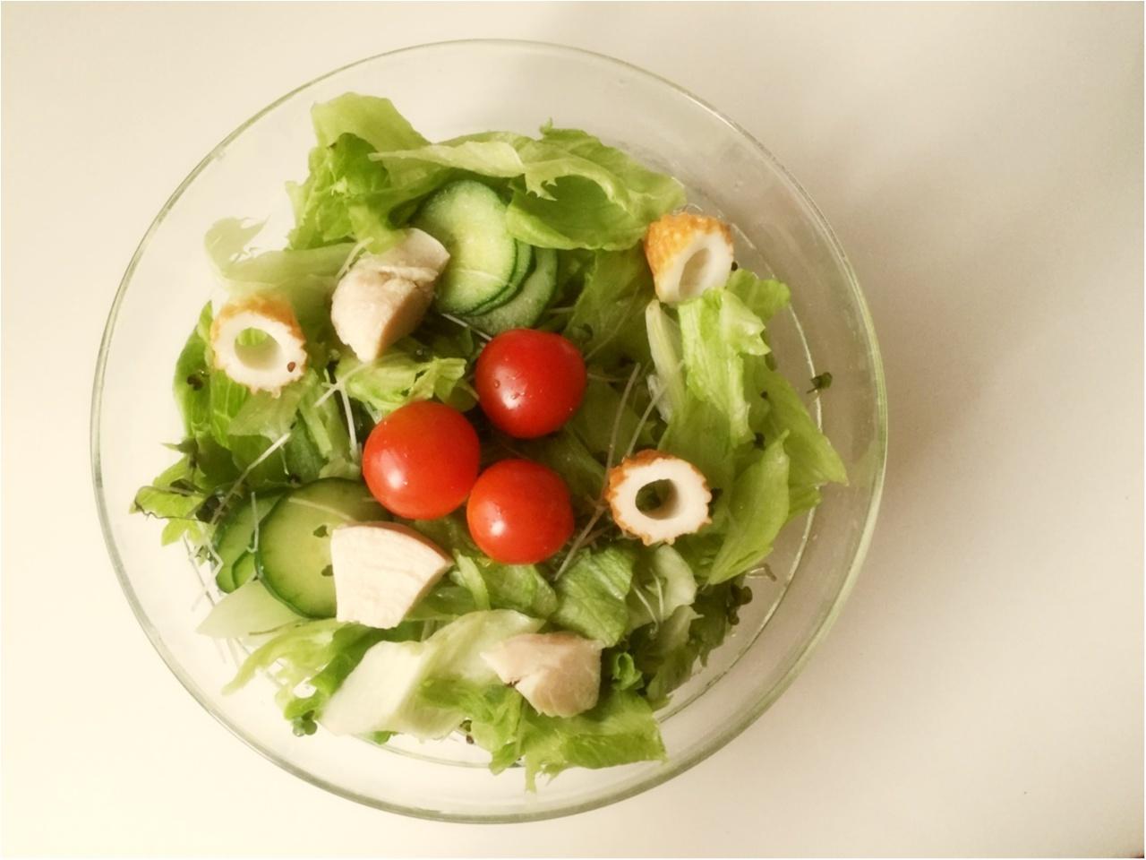 お野菜たっぷり!毎日サラダランチ♡*_4