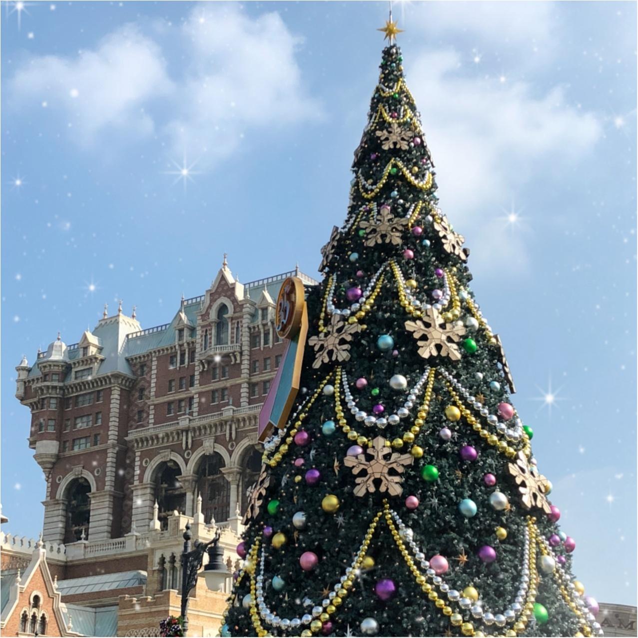 11/8~スタート!TDS【ディズニークリスマス】さっそく行ってきました!_2