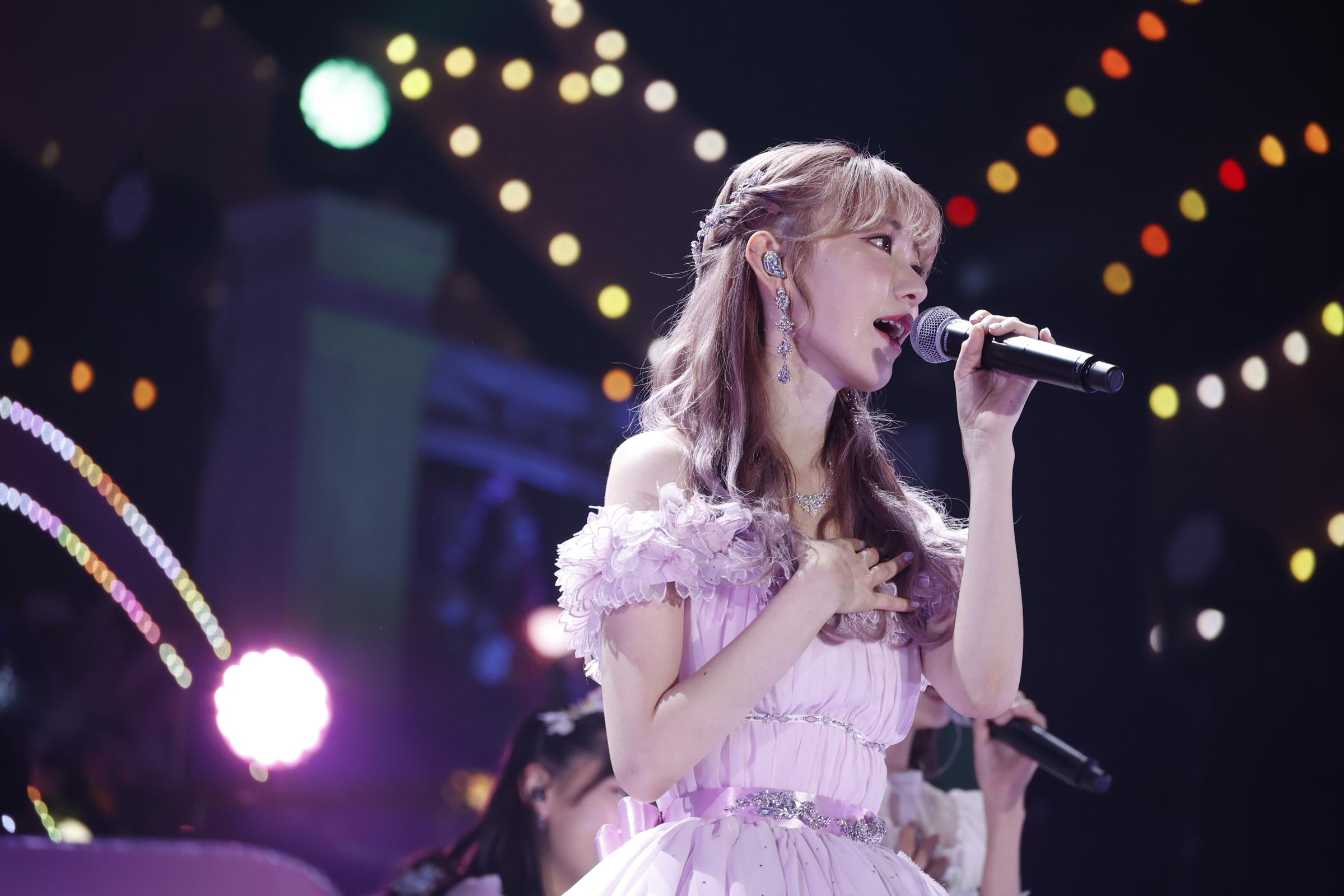 卒業コンサートを開催した宮脇咲良