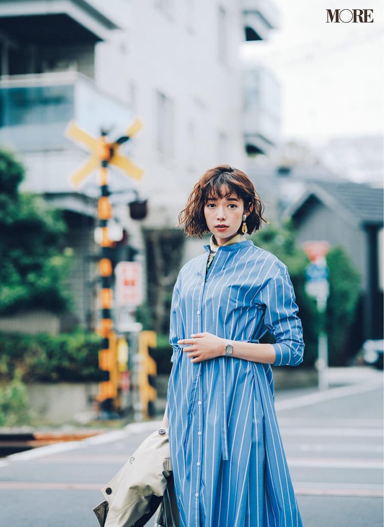 シャツワンピースの着こなし術【2020春】- 今年イチオシの色・形は? とびきり今っぽくておしゃれな最新ファッションまとめ_11