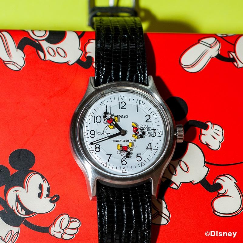 タイメックス×ビームスボーイのディズニーデザイン時計