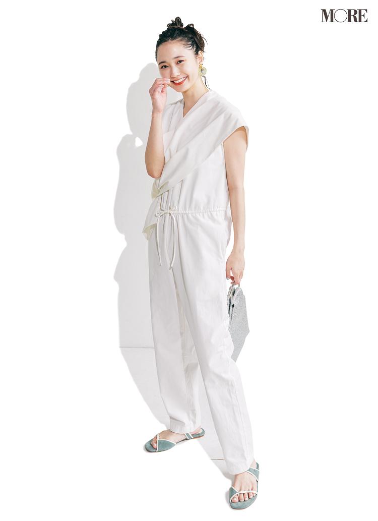 白って汚れる?膨張する?は昔の話!「コーデの90%白」の上手な着こなし法_4