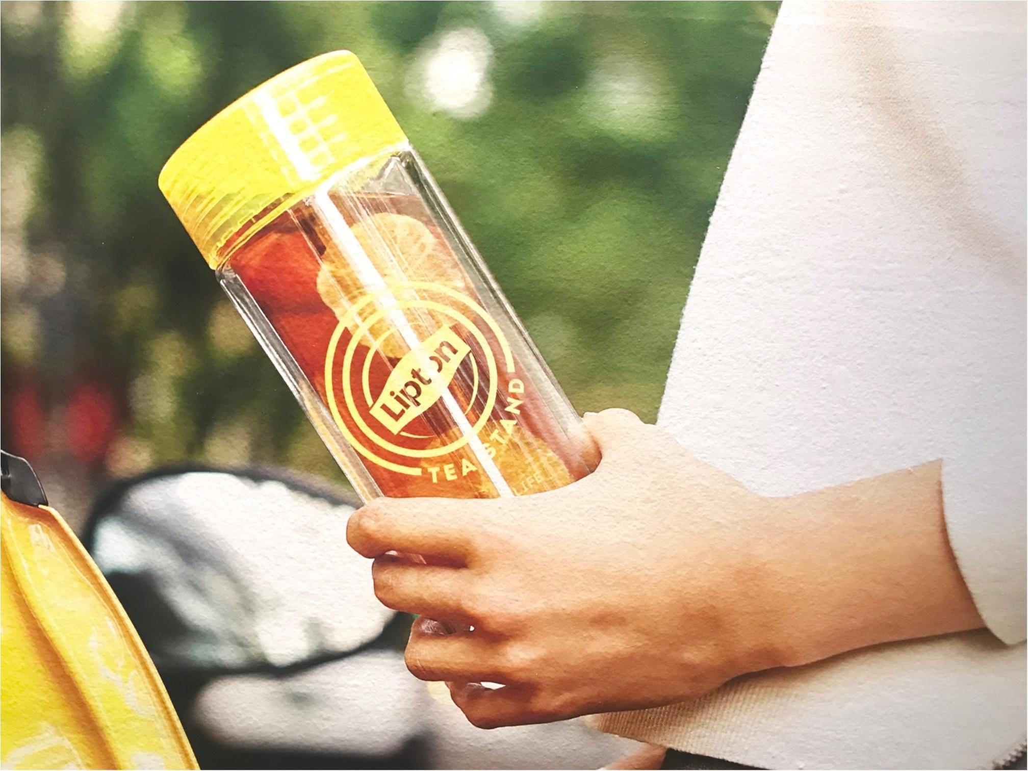 表参道・大阪で大人気のあの『リプトン』イベントがお店になった! 「Lipton Tea Stand」が、札幌北広島・名古屋・博多にオープン★_4_2