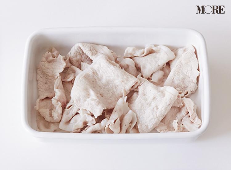【作りおきお弁当レシピ】豚肉薄切りをアレンジした簡単おかず3品! 肉巻きや、和えるだけで和風にも洋風にも♡_1