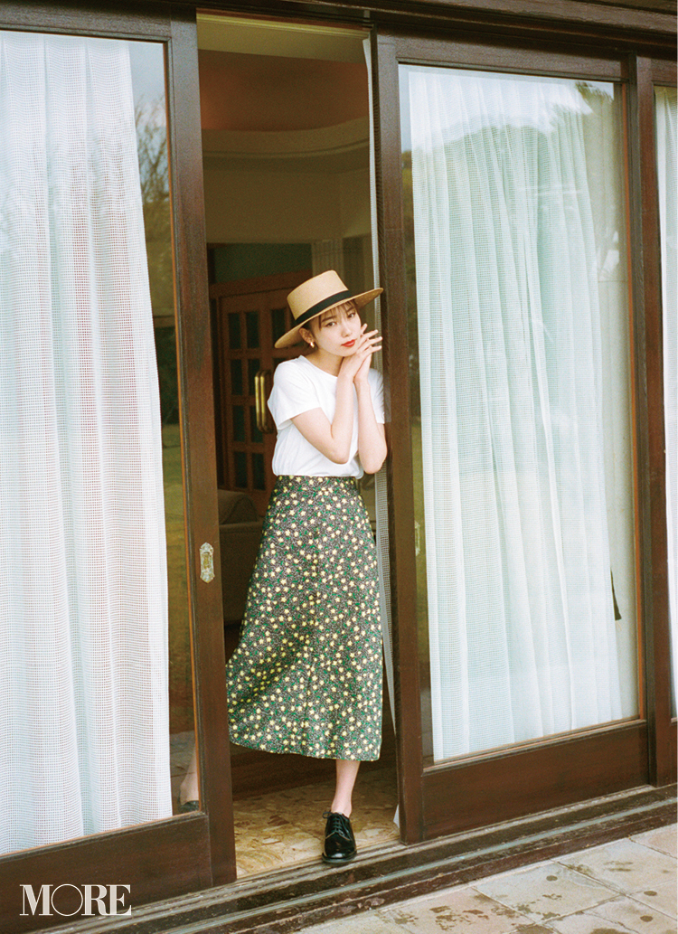 カンカン帽が復活♡ 2019年のかぶり方は、本田翼らモアモデルを参考に!記事Photo Gallery_1_4
