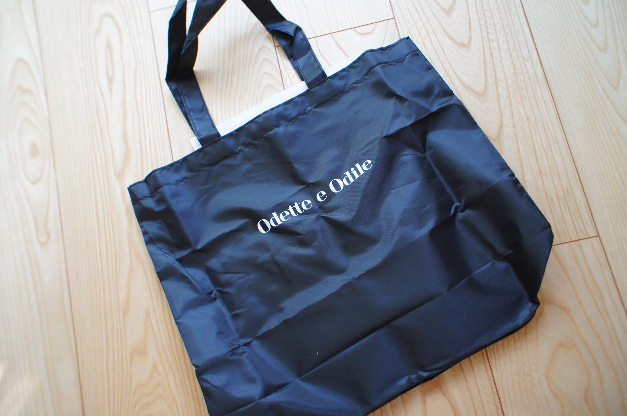 《本日10/28発売❤️》大人気Odette e Odileのエコバッグ付き!【MORE12月号】をチェック☻_2