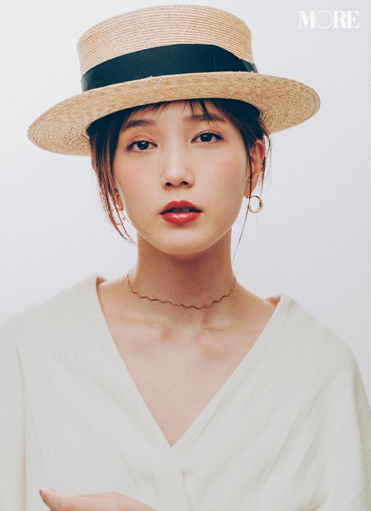 カンカン帽が復活♡ 2019年のかぶり方は、本田翼らモアモデルを参考に!記事Photo Gallery_1_1