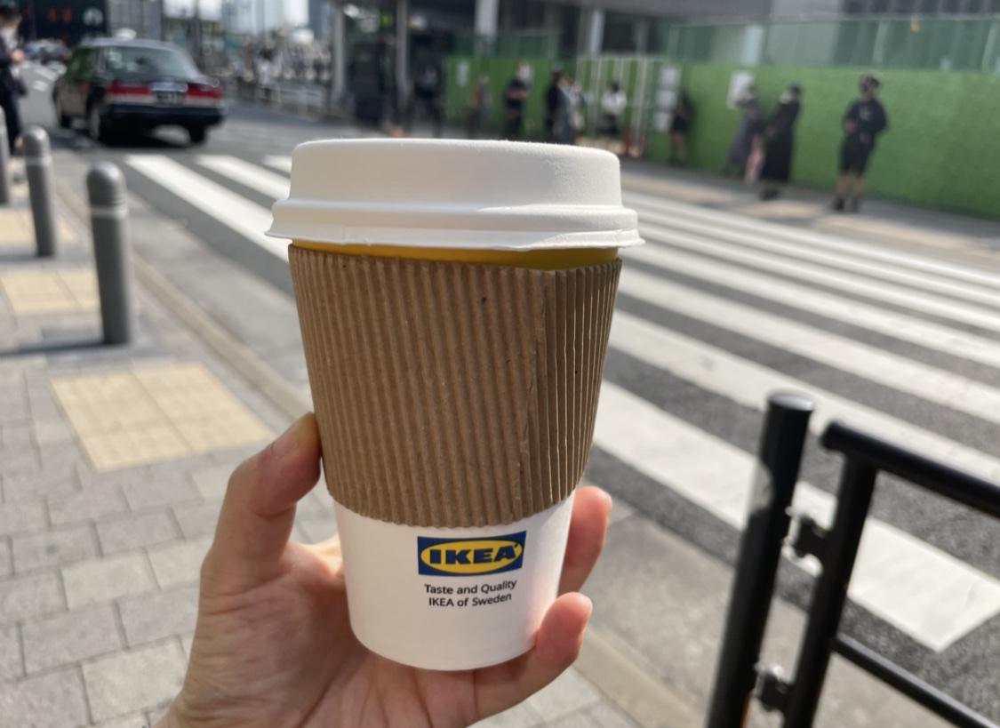 IKEA(イケア)原宿のドリップコーヒーをテイクアウト