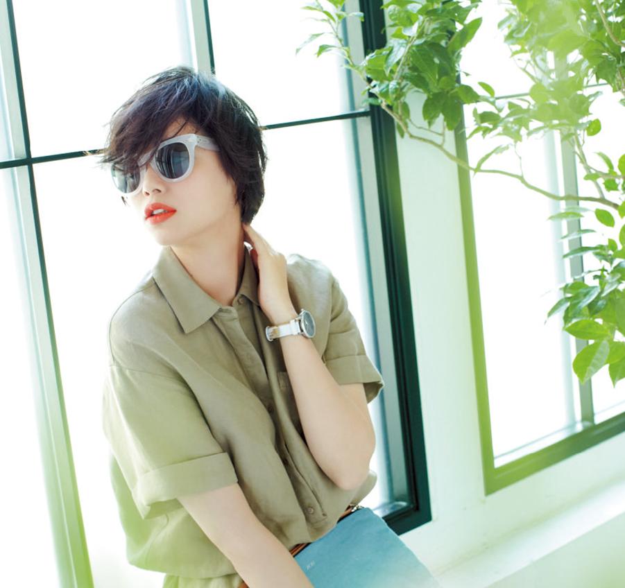 可愛いあの子はかけている♡ メガネとサングラス、この夏の正解!_4