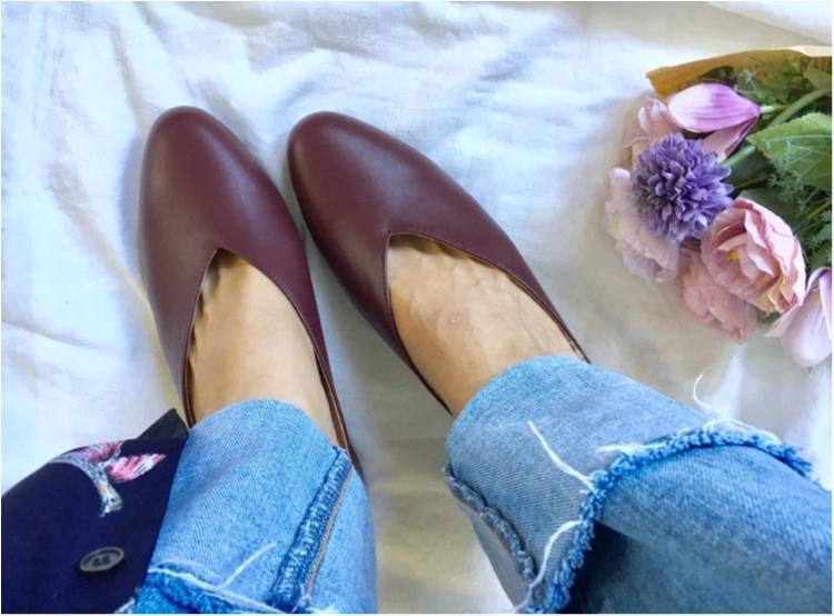 【GU】最新作の《プチプラ秋色シューズ》が優秀❤️色チ買いしたい可愛さです!_4