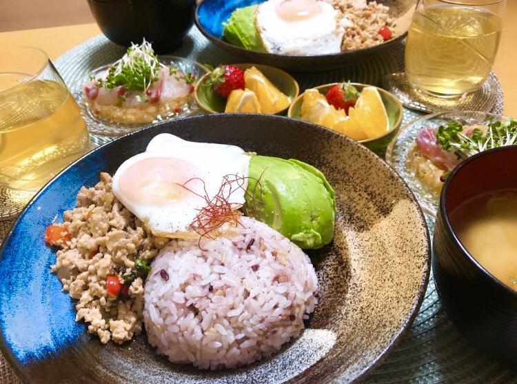 【♡ガパオライス♡】簡単高タンパクメニュー!お弁当にも◎レシピあり_3