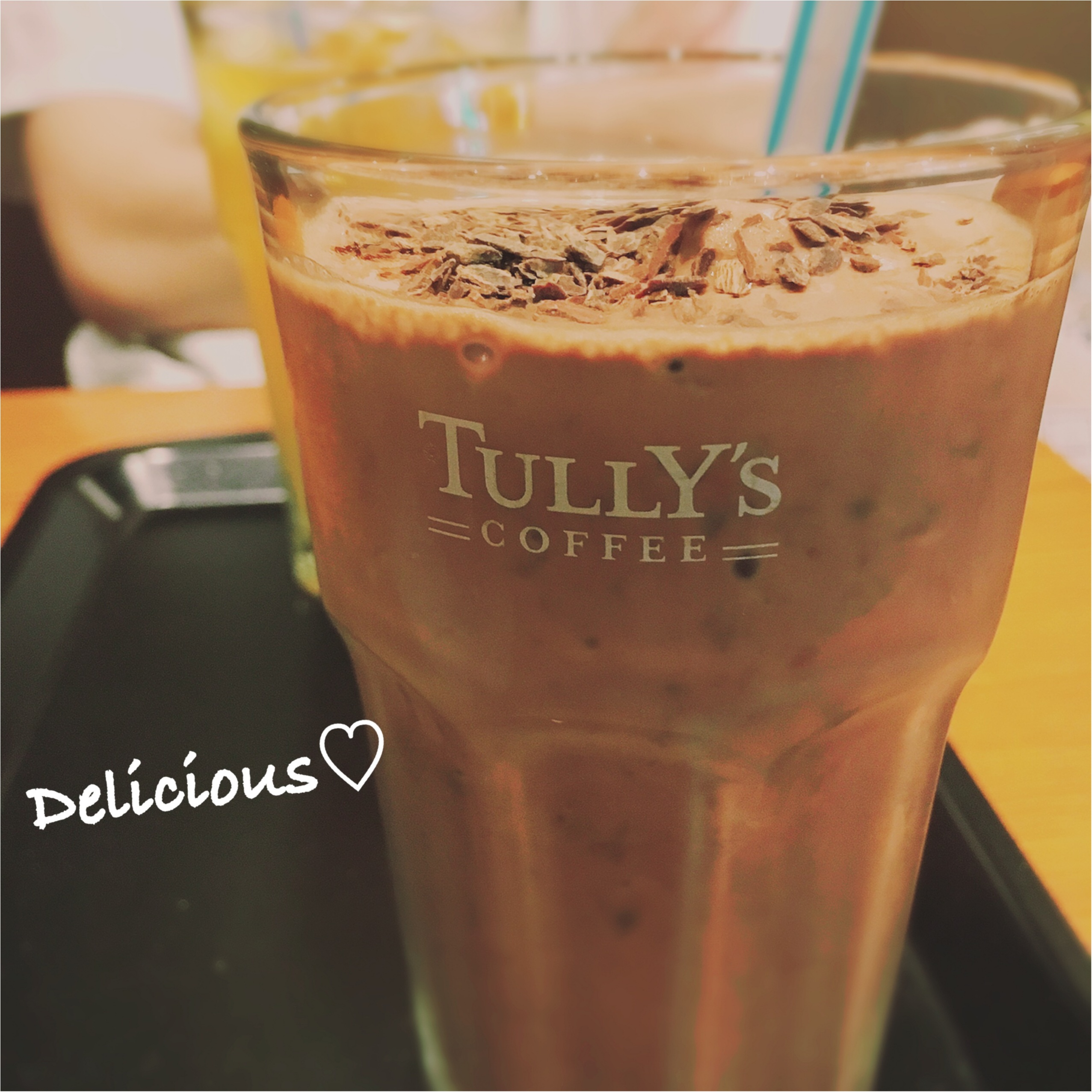 夏チョコの新定番⁈ また飲みたくなる❤️【TULLY'S】チョコリスタ!!!_5
