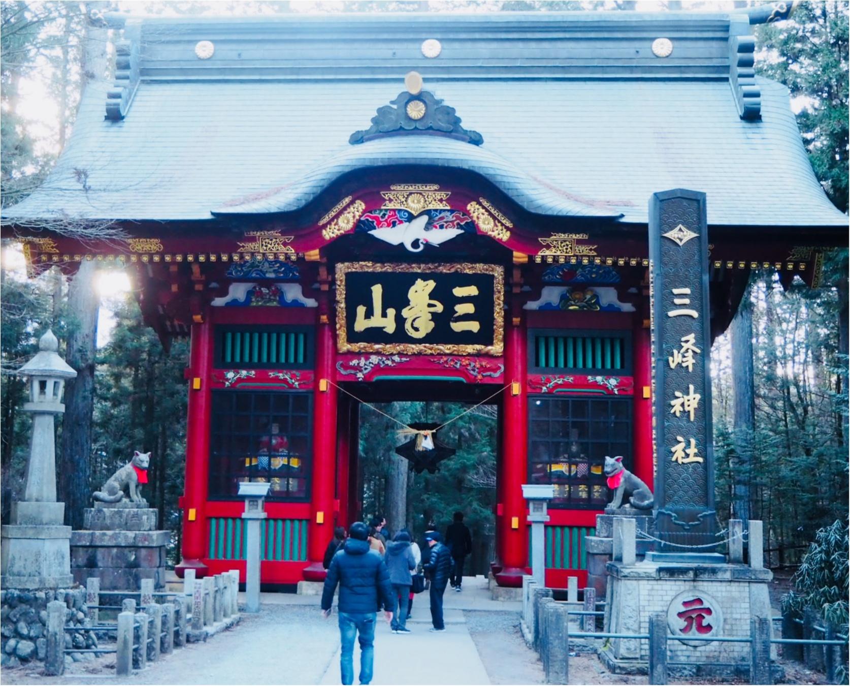 《2018年運気UP★》パワースポットとして名高い『秩父の三峯神社』へお出かけしてきました!_1