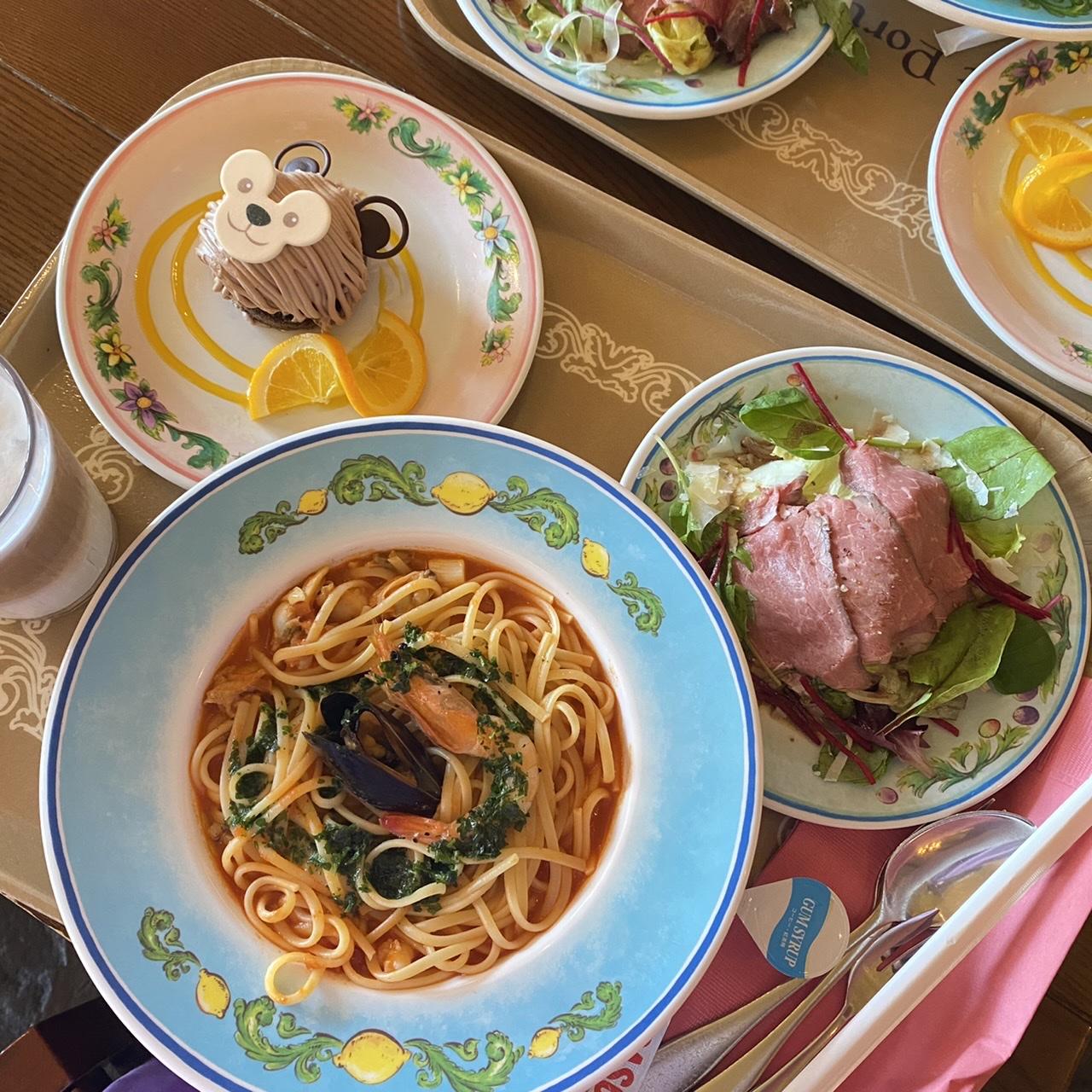 【ディズニーレストラン】カフェ・ポルトフィーノのスペシャルセット食べてきました♪_1