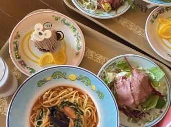 【ディズニーレストラン】カフェ・ポルトフィーノのスペシャルセット食べてきました♪