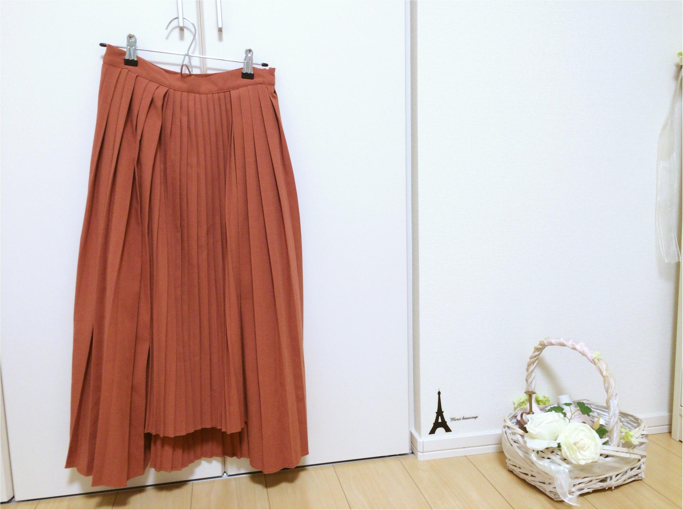 売切前にGETして!♡ 佐藤ありさコラボ《テチチの変形プリーツスカート》が大人気すぎる!_1
