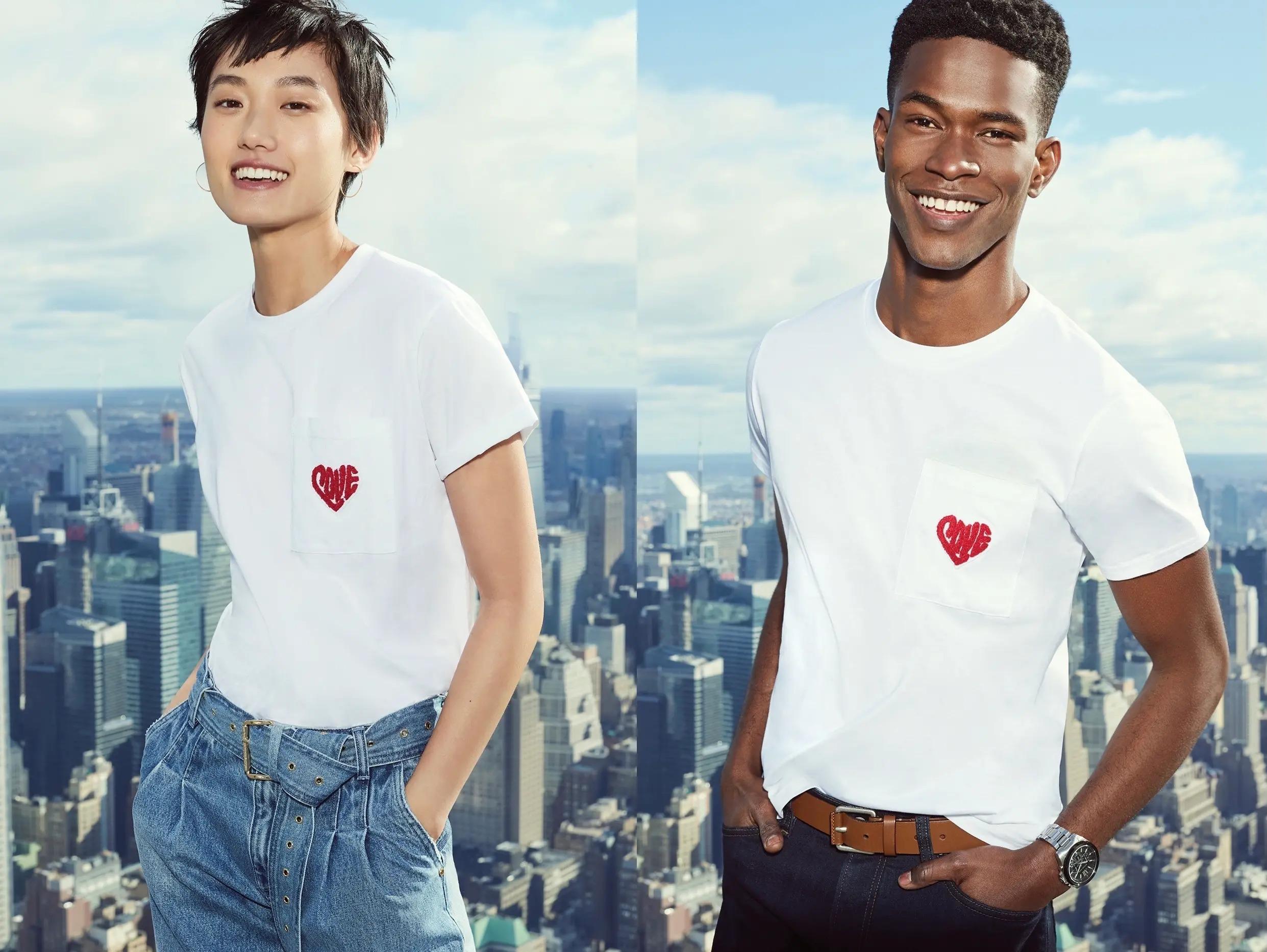 2021バレンタインのマイケルコースの限定Tシャツ