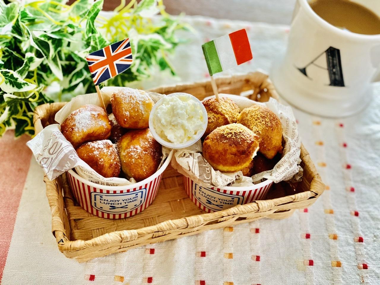 【おうちカフェ】超簡単なのに絶品★ホットケーキミックスでつくる人気レシピを実践♡-ひとくちドーナツ-_5