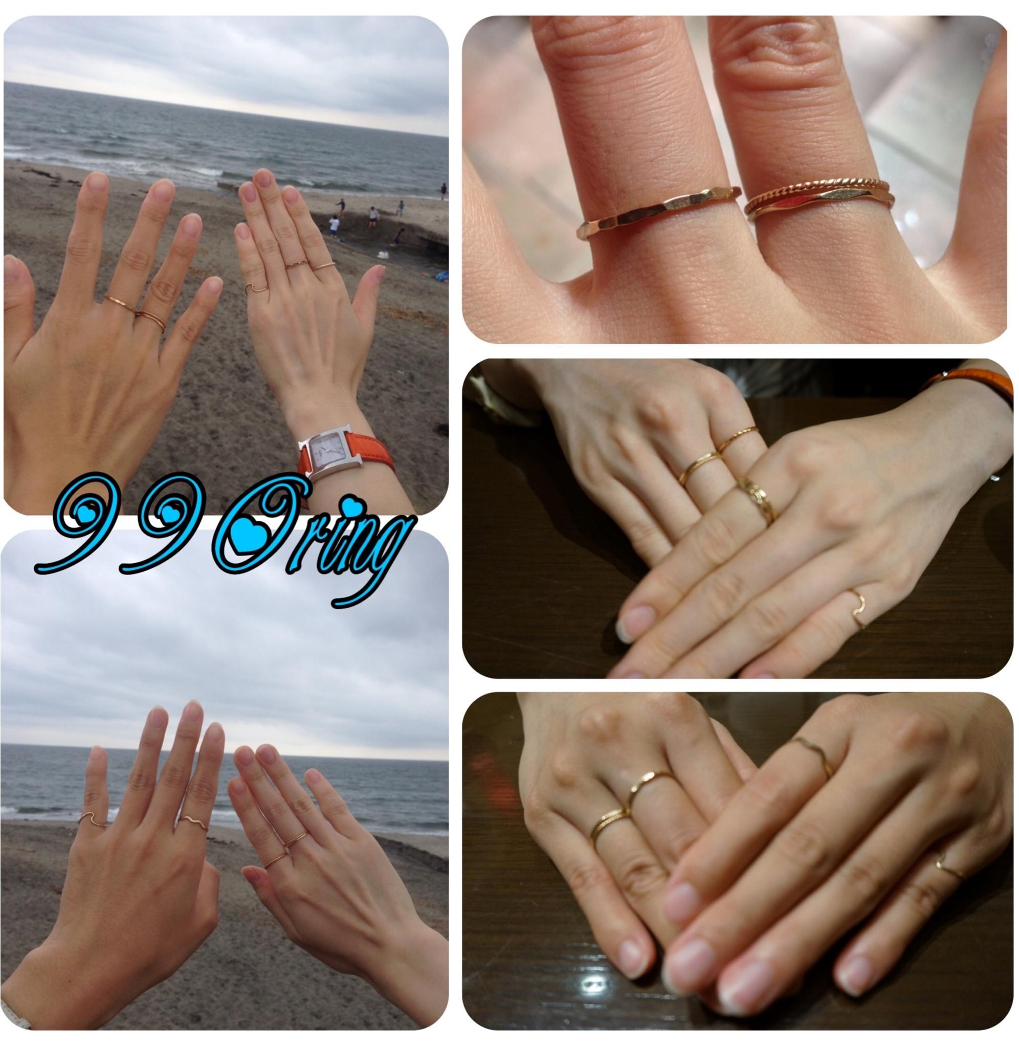 1個990円‼️鎌倉へ行ったら《世界に1つだけ》・《自分だけ》の指輪を作ろうヽ(^◇^*)/ ♪_5