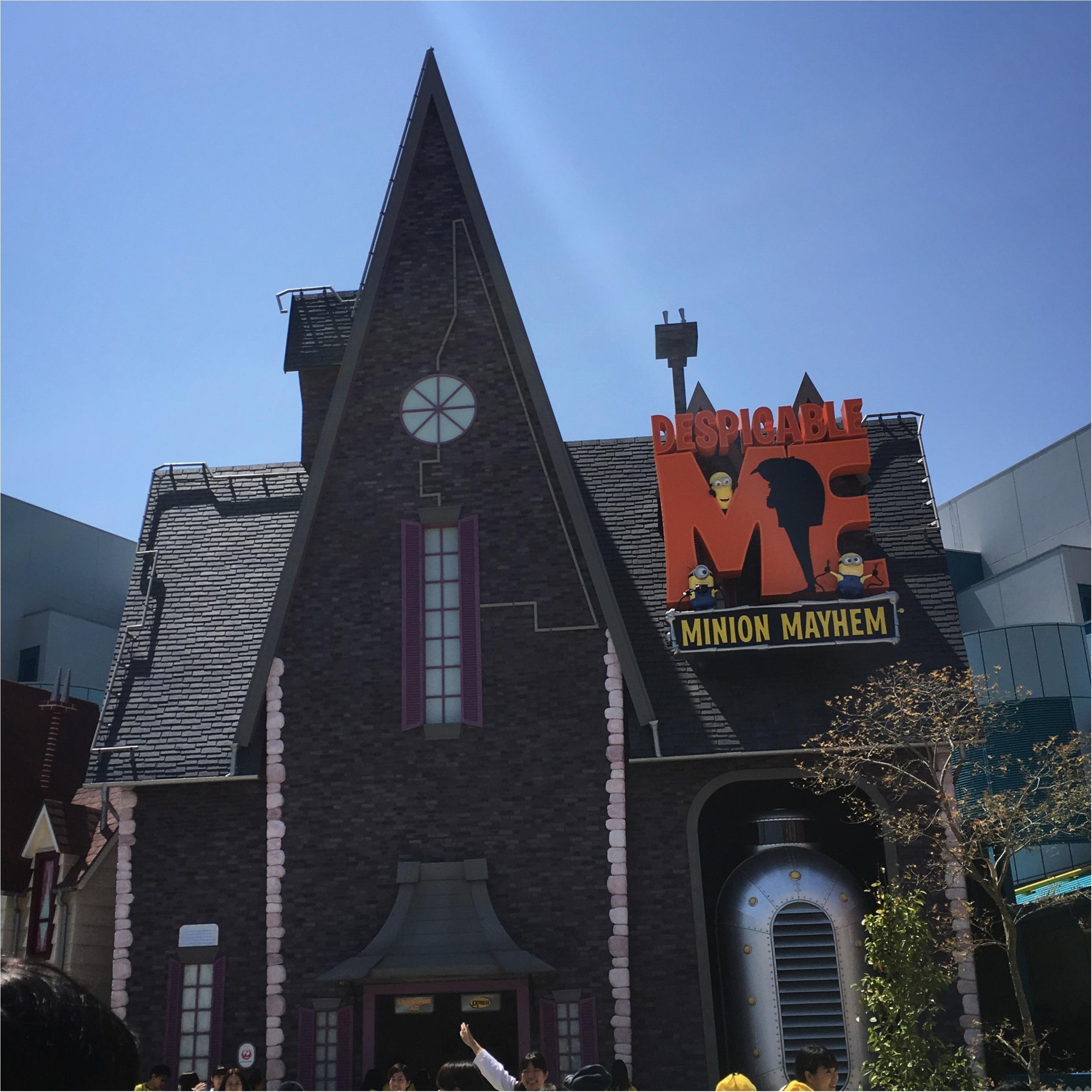 <4/21グランドオープン!>世界最大のハチャメチャエリア♡USJミニオン・パークに行ってきました!♡_3