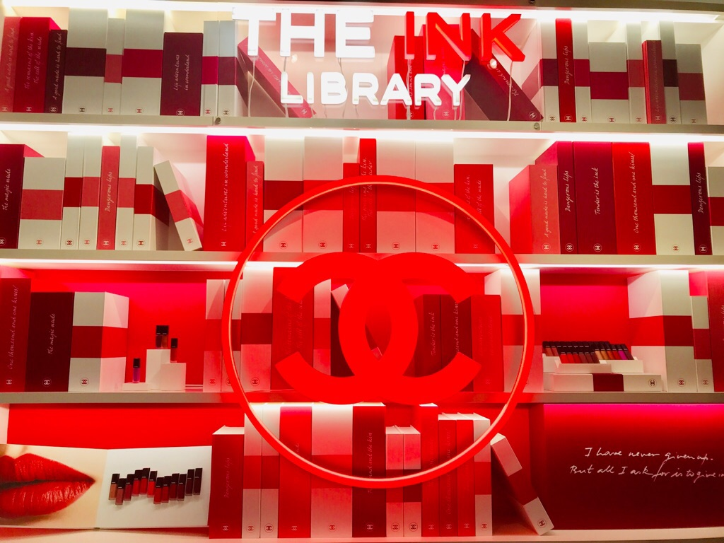 【CHANEL】まるで図書館!《THE INK LIBRARY》で新作リップをお試し♡嬉しいお土産付★_1