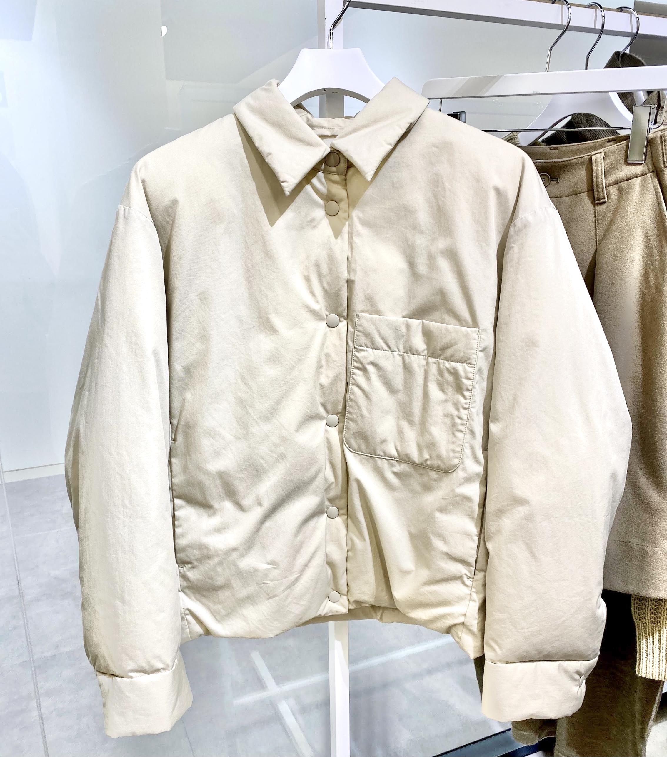 ユニクロユーのパテッドジャケット