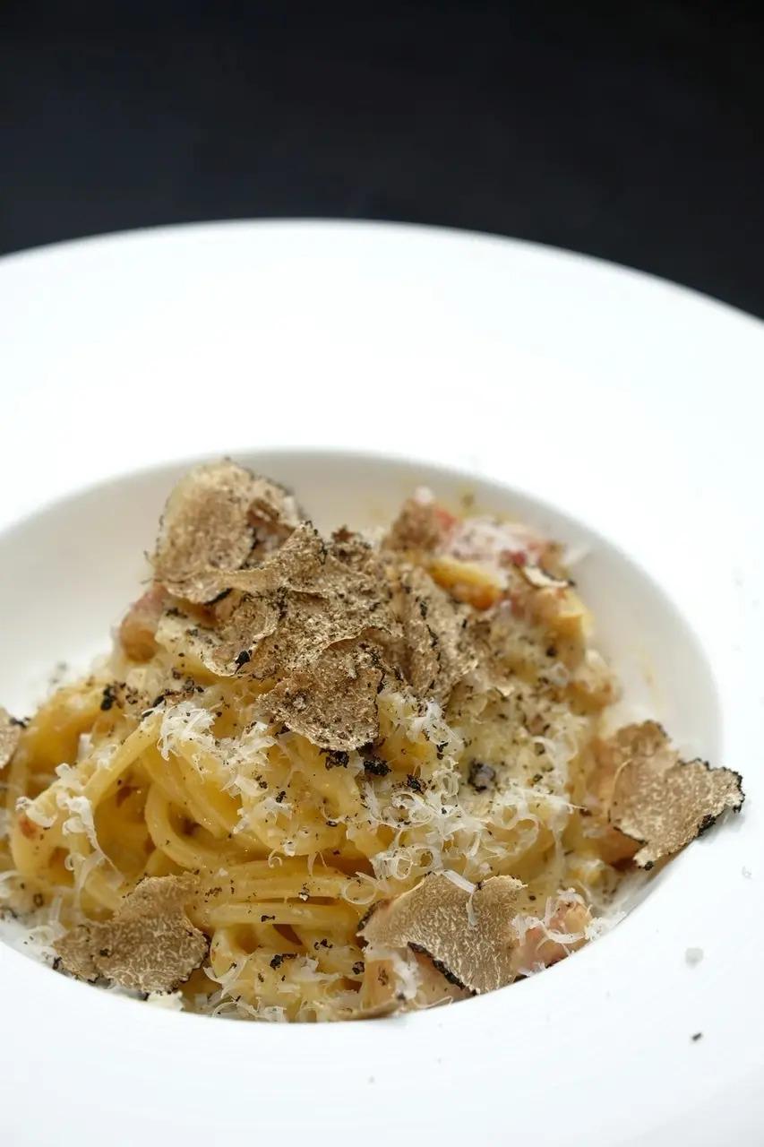 AURUM+truffleのカルボナーラ