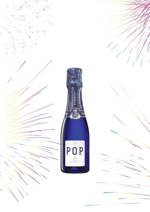 ミニボトルのシャンパンで乾杯なら♡ 花火柄の「ポメリー ポップ ポッピングエディション」 がおすすめ!_1