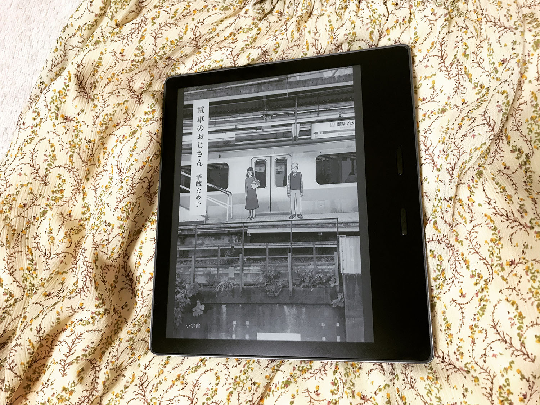 「電車のおじさん」の表紙(kindle)
