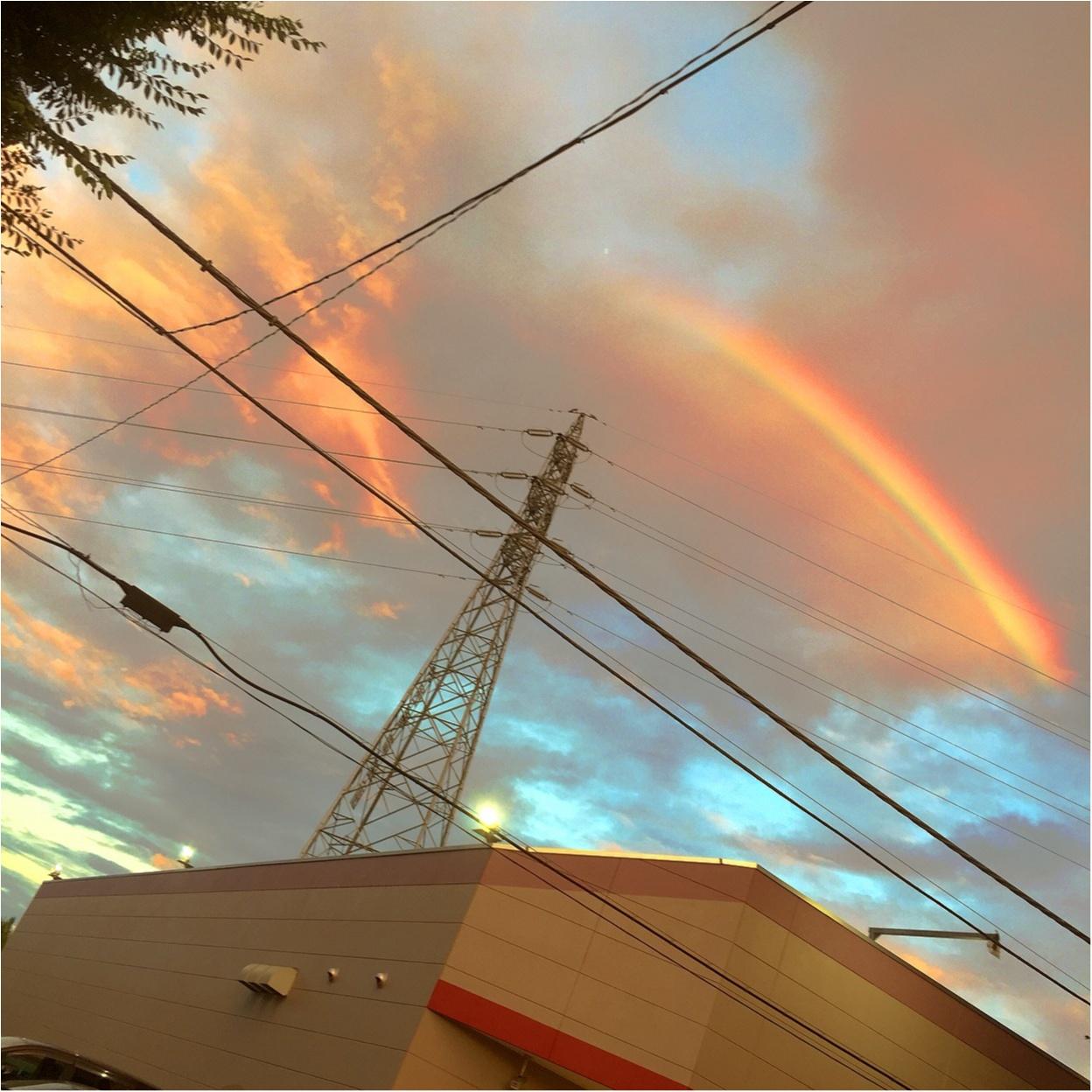 虹が...✨✨_5